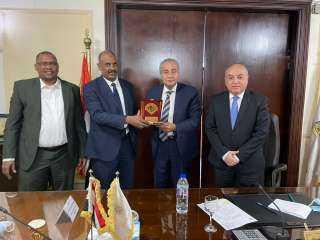 """زارة التموين"""" استعراض استراتيجية الشركة المصرية السودانية لزيادة التبادل التجاري بين مصر والسودان"""