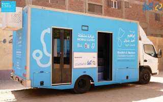 البنك الأهلي الكويتي - مصر يدعم مبادرات تحسين صحة وسلامة الأطفال في القرى